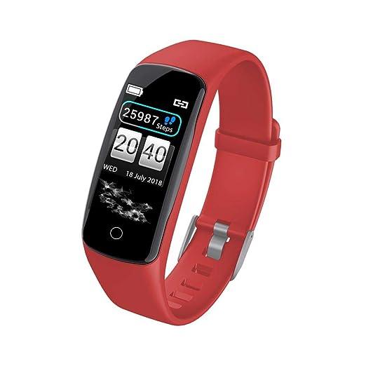 waysad Smartwatch Fitness Tracker Reloj de Pulsera Inteligente con ...