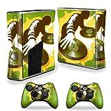 #6: MightySkins Protective Vinyl Skin Decal Cover for Microsoft Xbox 360 S Slim + 2 Controller skins wrap sticker skins Sonic DJ