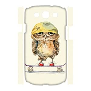ANCASE Owl Phone 3D Case For Samsung Galaxy S3 I9300 [Pattern-5]
