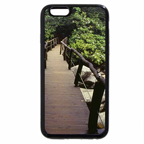 iPhone 6S / iPhone 6 Case (Black) footbridge great smoky mount np tennessee