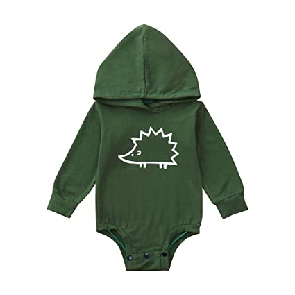 f08753037963 YanHoo-top Baby Rompers with Footies Hat Boys Girls Hooded Jumpsuit Infant  Winter Outfits Set for 0-12 Months 6Months-4T: Amazon.co.uk: Kitchen & Home
