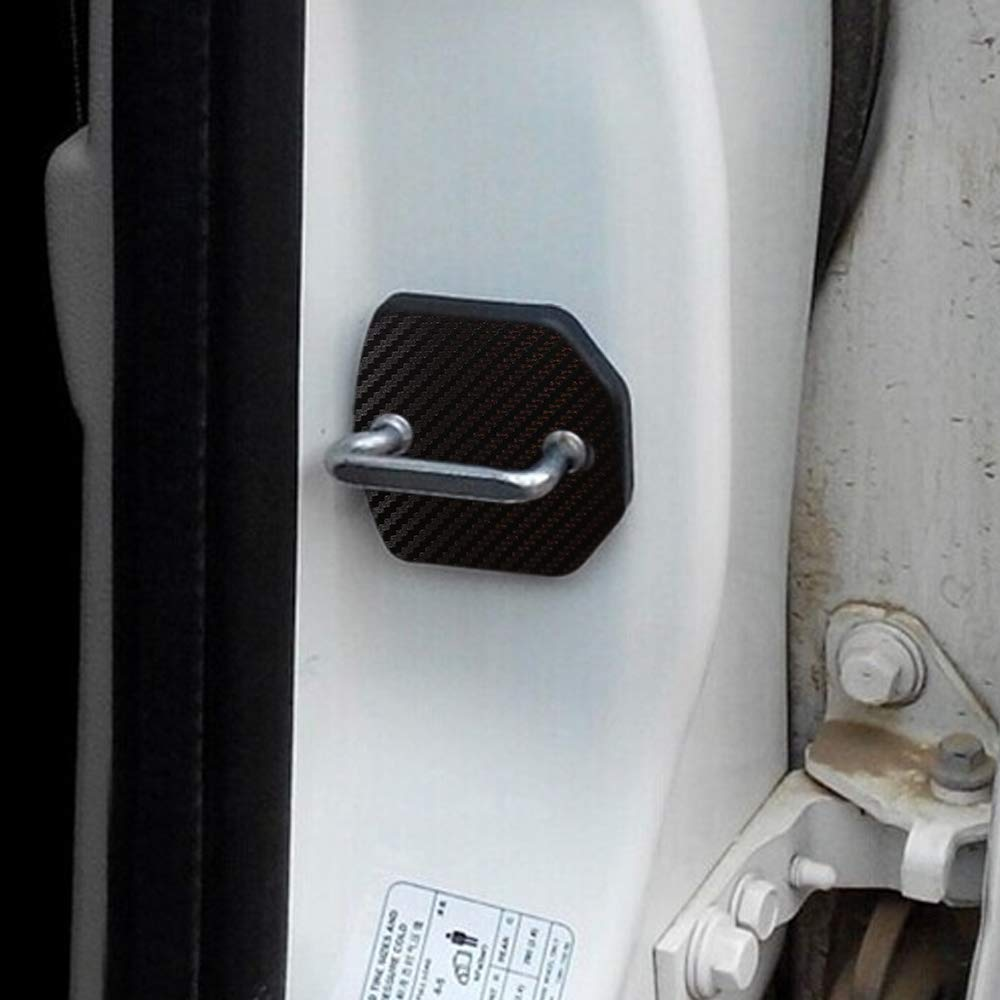 Maiqiken 4pcs Auto T/ürschl/össer Schutzabdeckung Auto Innenraum Schutz Zubeh/ör T/üren Abdeckungen Schwarz F/ür Focus 2 2005 to 2013 Fiesta Kuga Escape