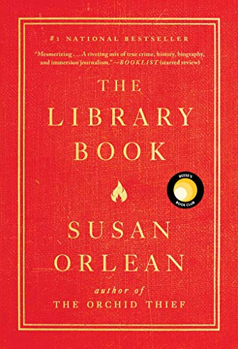 Book cover from The Library Book by Susan Orlean