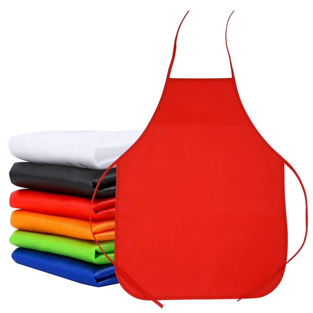 Community Event 15 Colors Crafts and Art Painting Activity Caydo 15 Pieces Middle Size Kids Painting Apron for Ages 5 to 10 Classroom in Kitchen