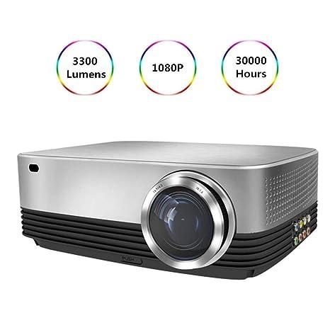 Proyector Proyectores portátil HD 1080P Inicio 3300 lúmenes ...