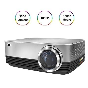 Cine en casa Proyector Proyectores portátil HD 1080P Inicio 3300 ...
