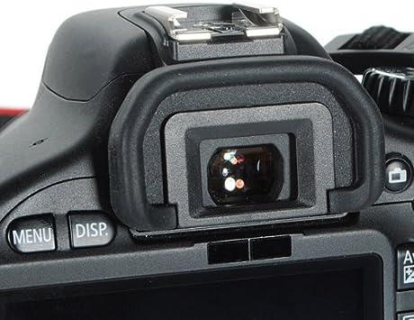30D 5D Mark II Occhiello in gomma per mirino Canon tipo EB compatibile con Canon EOS 70D 60Da 40D 10D 6D N EB 60D 20D 50D 5D