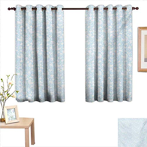 - Baby Customized Curtains Hearts Background with Teddy Bears Strollers Infant Clothes Newborn Child Theme 63
