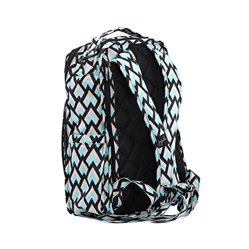 Ju-Ju-Be Onyx Collection Be Right Back Backpack Diaper Bag Negro diamond