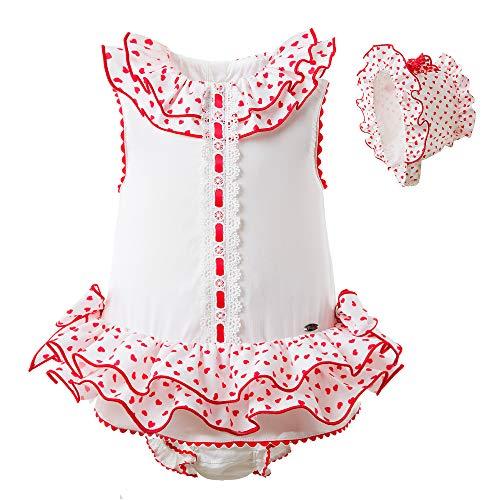 Price comparison product image Pettigirl Baby Girl Dresses Princess Layer Dress Heart Pattern Clothing Set