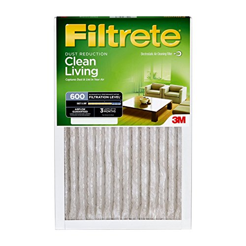 3M Filtrete 14x24x1 600 Dust and Pollen Air Filter