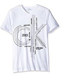 Calvin Klein Jeans Men's Short Sleeve Repeat Ck Logo...