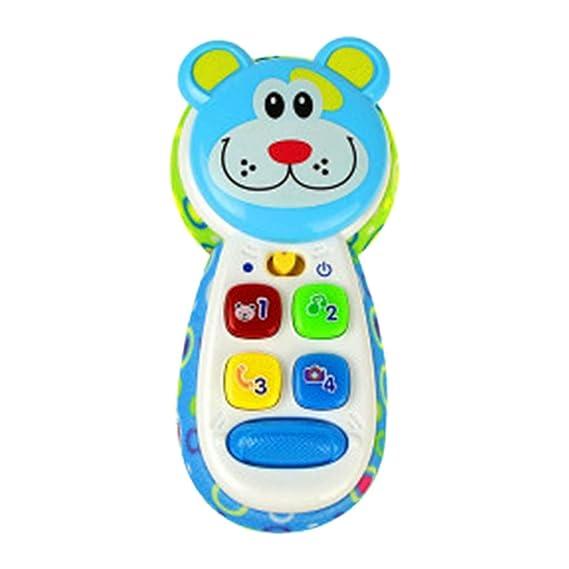 Canifon Juguete De Educación Temprana Niños Bebé Telefono De Juguete Aprendizaje Educativo Máquina Inteligente Juguetes: Amazon.es: Juguetes y juegos