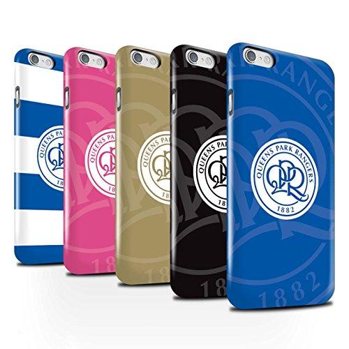 Officiel Queens Park Rangers FC Coque / Clipser Brillant Etui pour Apple iPhone 6S / Pack 11pcs Design / QPR Crête Club Football Collection