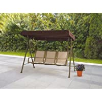 Mainstays Sand 3 Seat Sling Swing Dune