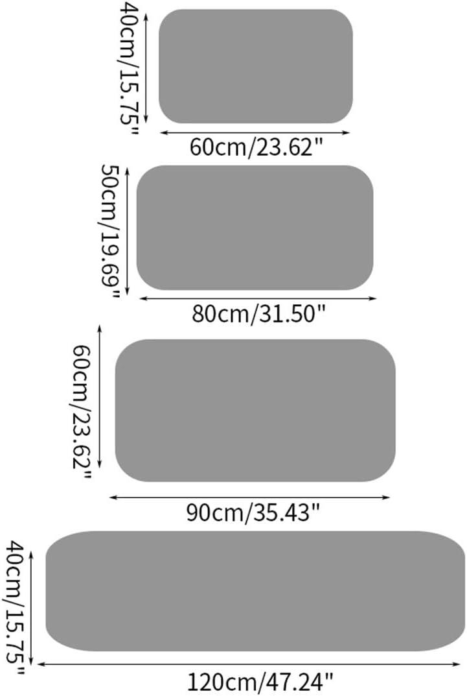 RenHe Paillasson Tapis dEntr/ée Tapis Absorbant Antid/érapant Paillasson Exterieur Interieur Salle de Bain Douche Chambre #1 40 60cm