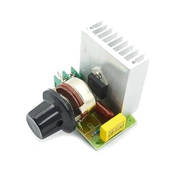 para el Accesorio Arduino Kits LDTR-WG0109 Regulador de Voltaje electrónico SCR de 3800W Reguladores
