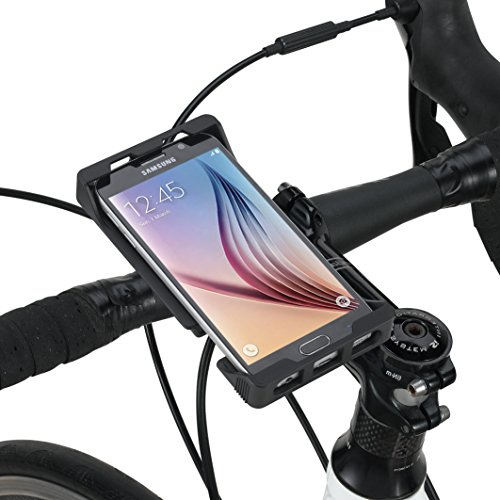 Tigra Sport Mount Case Universal 5 Bicycle Smartphone Mount Bike Kit Screens, 5.2'' by Tigra Sport
