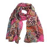FEITONG® Fashion New Lady Women Soft Printed Silk Shawl Scarf