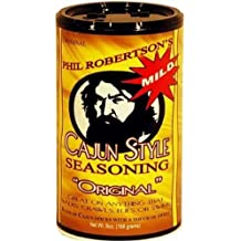Duck Commander Phil Robertson's Cajun Style Seasoning 6oz Canister (Pack of 3) Choose Flavor Below