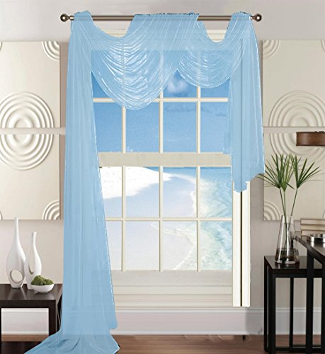 curtain light blue - 7