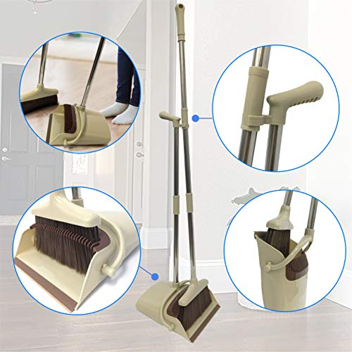 (EasyGoProducts EGP-BDP-001 Klean Kit Dustpan Soft or Hard Surface Upright Dust Pan is 33
