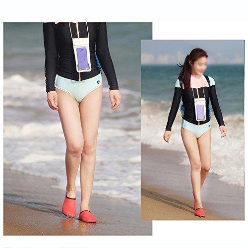 NAN Yoga da Beach Snorkeling Antiscivolo Unisex Calzini spiaggia Traspiranti Colore Scarpe Traspiranti Tapis Calzature Scarpe Barefoot da Nuoto morbide da roulant immersione Rosa Wading spiaggia Calzini rxqRrIz