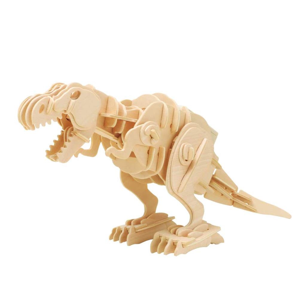 TKFY Roboter Tyrannosaurus Resonance Electric Puzzle 3D Weisheit der Kinder Puzzle Nordamerika Fleisch verloren Lost World Jurassic Park 90 Stücke