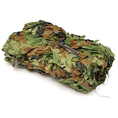 Lightweight Camouflage Netting,MELIIO Woodland Camouflage Net Camping Military Hunting Shooting Sunscreen Nets Hide Woodlands jungle for Blind Watching Hide Party Decorations 13ftx16.4ft (4mx5m)