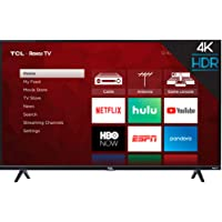 TCL inch 4-Series 4K Roku Smart UHD TV (55 in)
