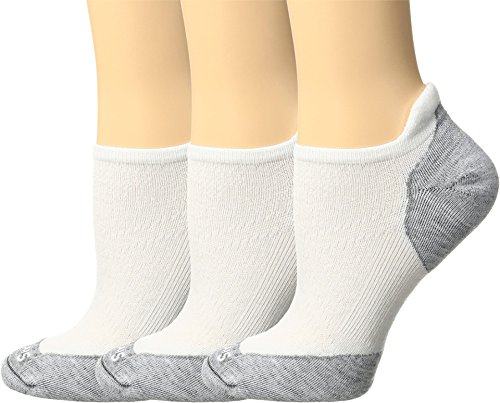 Smartwool Women's PhD Run Elite Micro 3-Pair Pack White/Light Gray Small