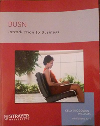 BUSN Introduction to Business
