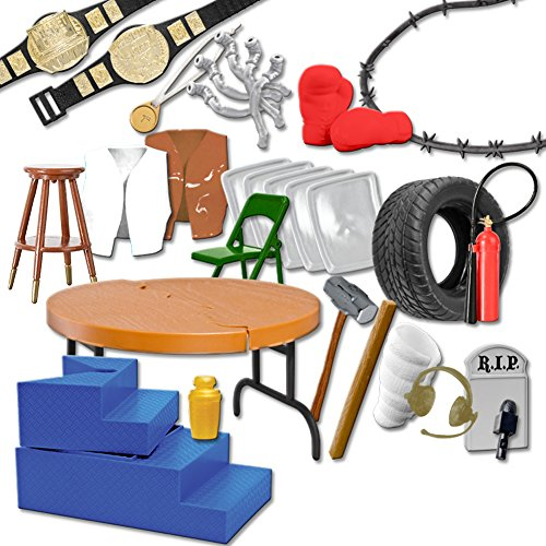 30-Piece-MASSIVE-Wrestling-Figure-Accessories-Pack-For-WWE-Wrestling-Action-Figures