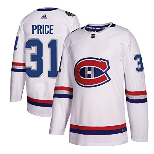 Carey Price Montreal Canadiens (Montreal Canadiens Adidas Carey Price 100th Year Authentic Pro Jersey White (54/XL))