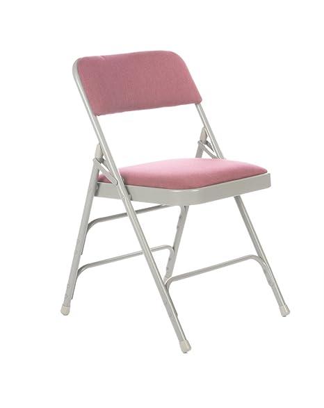 Amazon.com: Comercial tela acolchado silla plegable, Triple ...
