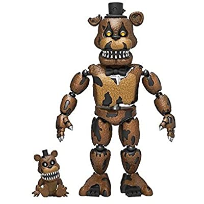 "Funko 5"" Articulated Five Nights at Freddy's - Nightmare Freddy Action Figure: Funko Articulated Action Figure:: Toys & Games"