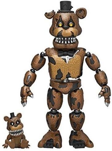 CINQ NIGHTS AT FREDDYS cauchemar Bonnie figurine de collection articulé