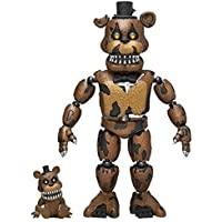 "Funko Action Figure Five Nights At Freddys 5"" Articulated Nightmare Freddy"
