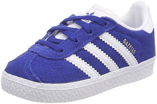 adidas Gazelle, Zapatillas Unisex Bebé Azul (Reauni / Ftwbla / Ftwbla 000)