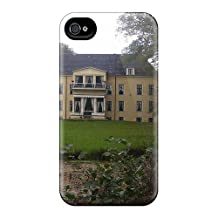 Defender Cases With Nice Appearance (large Frisian Farm House) For Iphone 6