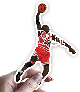 Michael Jordan Sticker Basketball Decal for Laptop or Any Flat Surface