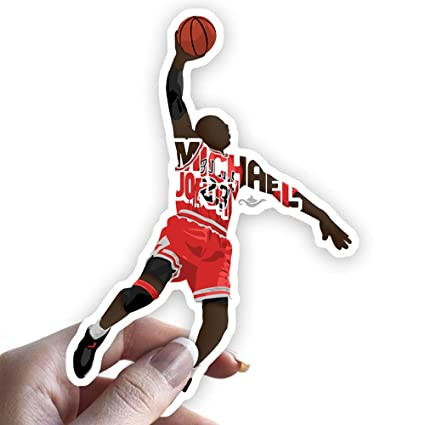 For Jordan Grantedesigns Laptop Any Flat Surface Decal Michael Sticker Basketball Or IWEDH29Y
