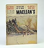 img - for Maclean's - Canada's National Magazine, November (Nov.) 19, 1960 - We Adoped a Negro / John Fienberg book / textbook / text book
