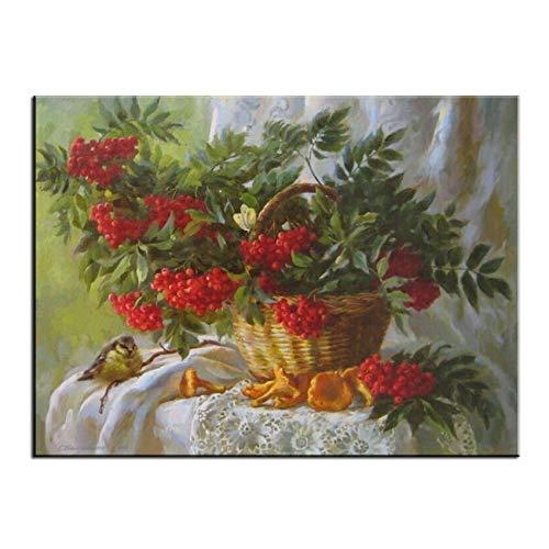 Envío y cambio gratis. 40x50cm No Frame NGDDXTG Pintura de Frutas por por por números sobre Lienzo Dibujo Digital Parojo Imágenes Arte DIY Pintado a Mano  Con 100% de calidad y servicio de% 100.