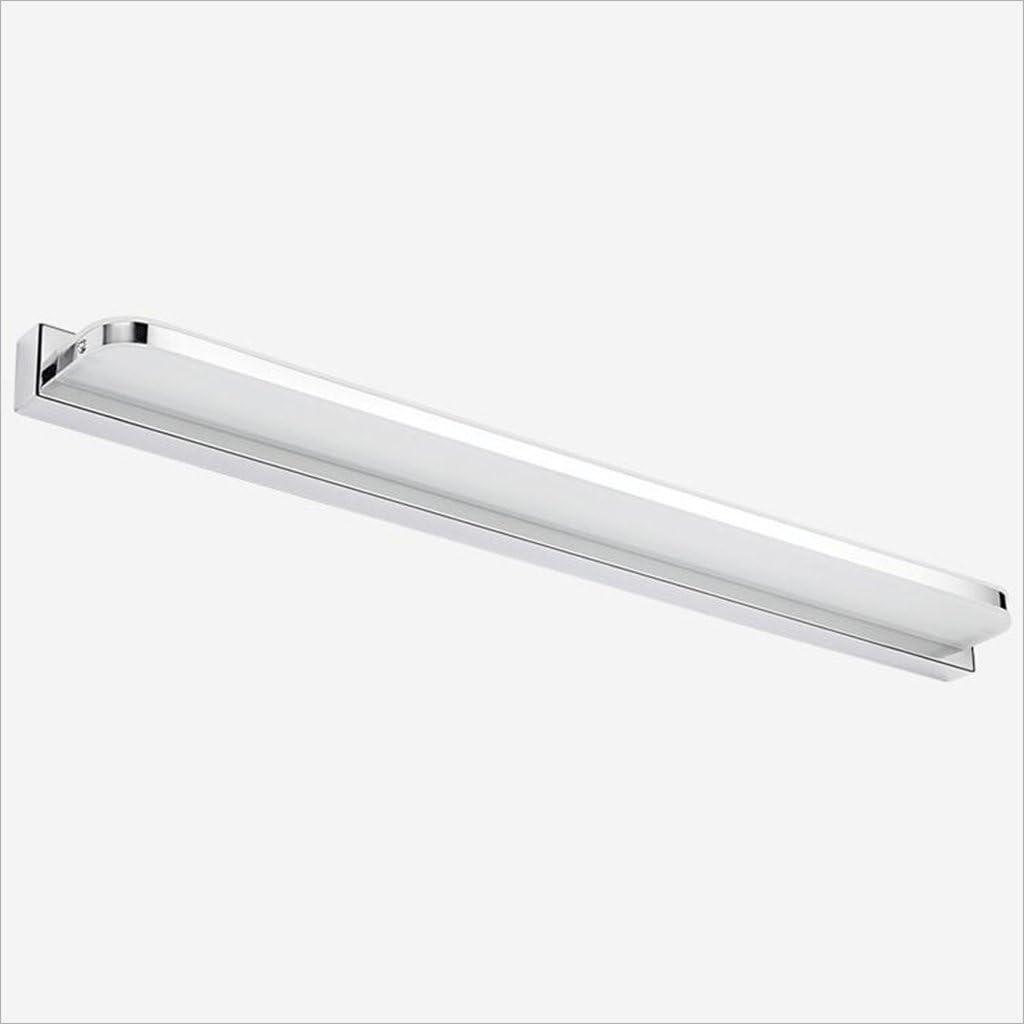 LU-Badezimmer Wasserdicht Nebel Led Led Spiegel Licht Modern Einfache LED Wandleuchte Acryl Bad WC Make-up Lampe (Farbe : Weiß-3w/25cm) Weiß-9w/42cm
