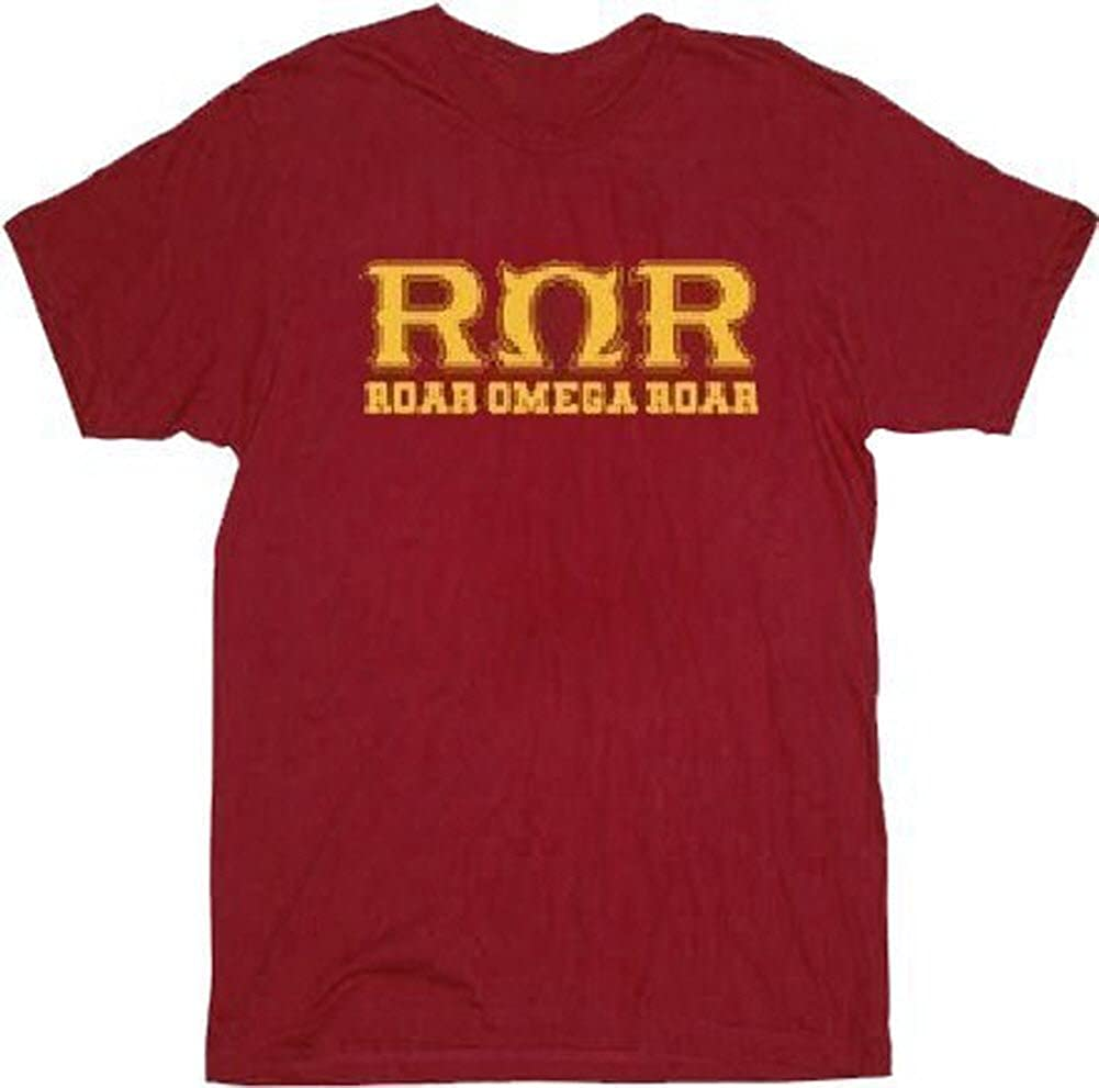 Monsters University Roar Omega Roar Maroon Adult T-Shirt