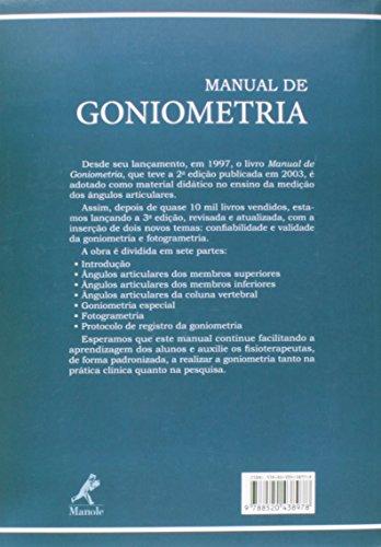 Manual De Goniometria