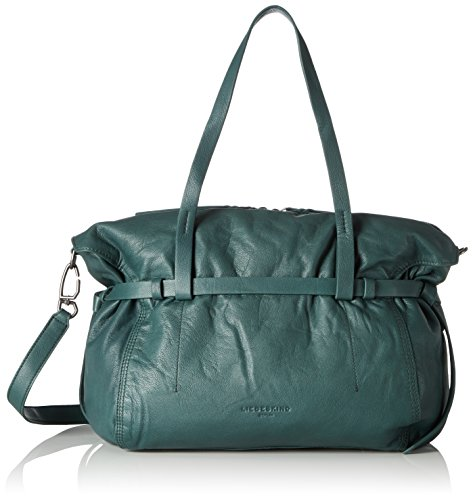 hombro Feather y Green Berlin Mujer Liebeskind de Vinlux Verde bolsos Augusta Shoppers q0CxF1vw