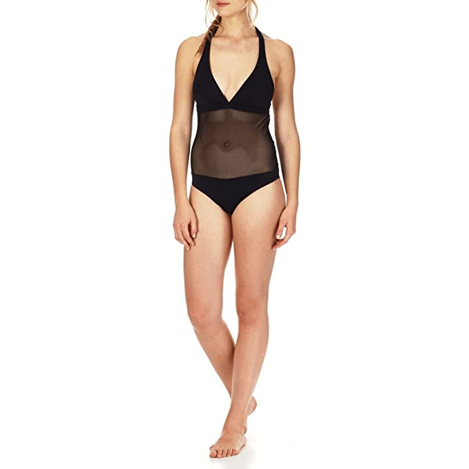 af6a76e828677 Vilebrequin Women One Piece Swimsuit Solid Net at Amazon Women s ...