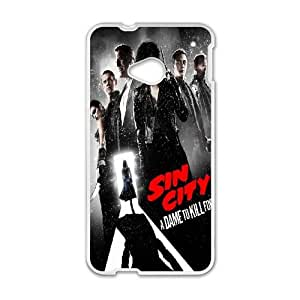 Sin City A Dame To Kill For Poster HTC One M7 Cell Phone Case White DIY Present pjz003_6488203